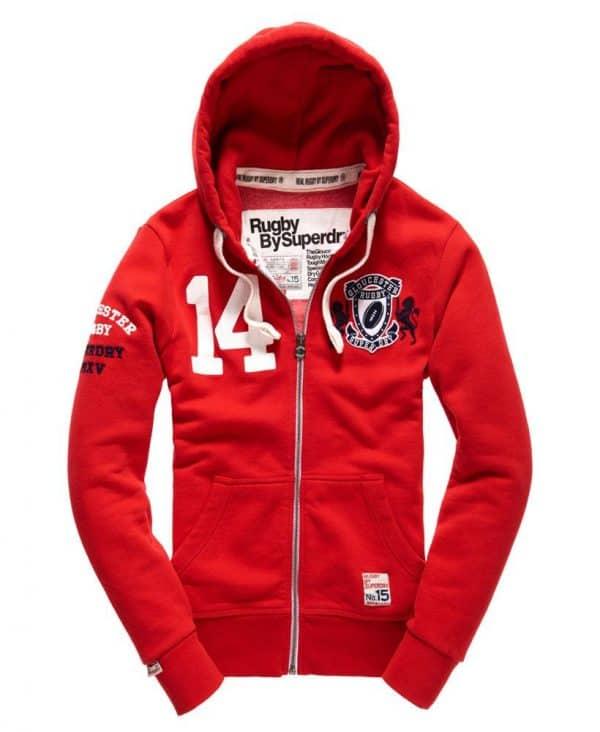 Gloucester rugby superdry hoodie