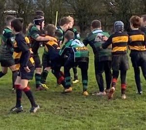 Under 10 rugby Thornbury Bristol